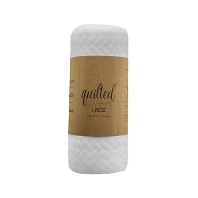Herring Quilted Coverlet Set