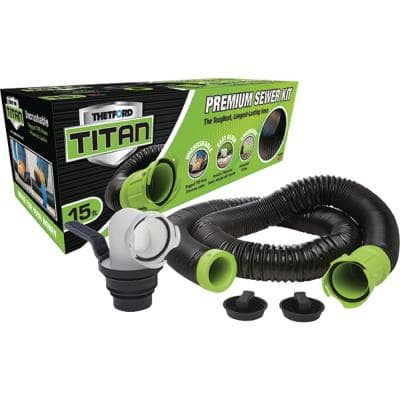 Titan 15 ft. Premium RV Sewer Kit System