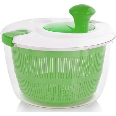 5L Green Zulay Salad Spinner