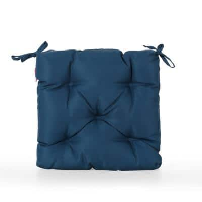 Navagio 19 in. x 3.15 in. Outdoor Dining Chair Cushion in Dark Teal