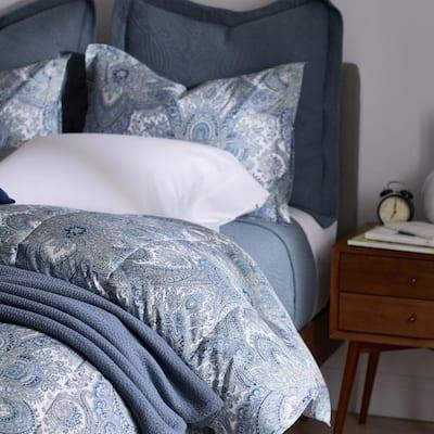 Legends Hotel Triomphe Paisley Wrinkle-Free Sateen Comforter