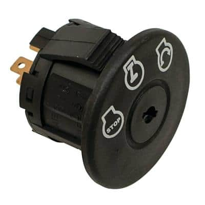 New Ignition Switch for Ariens Most WAW 34, Zoom with 34 in., 42 in., 52 in. Deck, Zoom 1334, IKON X 42