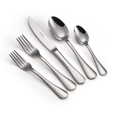 Classic 45-Piece 18/10 Stainless Steel Flatware Set