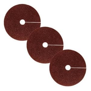 24 in. Red Recycled Rubber Tree Ring (3-Pack)