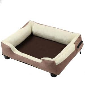 Large Brown Dream Smart Electronic Heating and Cooling Smart Pet Bed