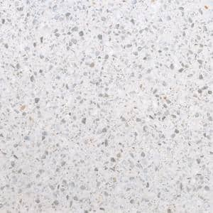 Terazio Bianco Polished 23.62 in. x 23.62 in. Porcelain Floor and Wall Tile (11.625 sq. ft. / Case)