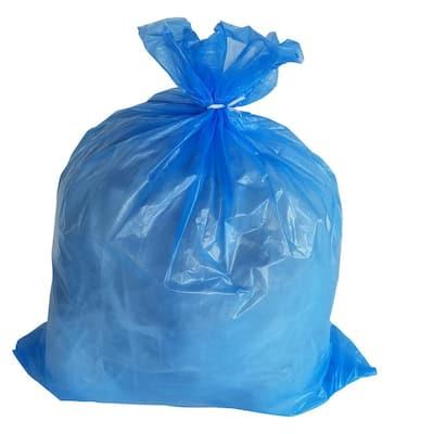 24 in. W x 31 in. H 12-16 Gal. 1.2 mil Blue Trash Bags (250- Count)