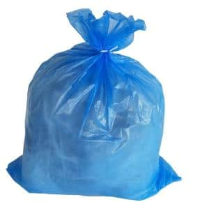 40 in. W x 46 in. H 40 Gal. to 45 Gal. 1.2 mil Blue Trash Bags (100-Count)