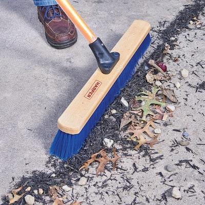 24 in. Indoor/Outdoor All-Purpose Push Broom