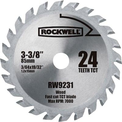 VERSACUT 3-3/8 in. 24-Teeth Carbide-Tipped Blade