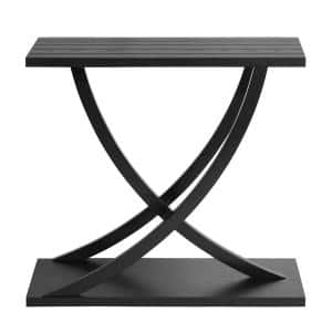 Black Ritter Hallway Console Table