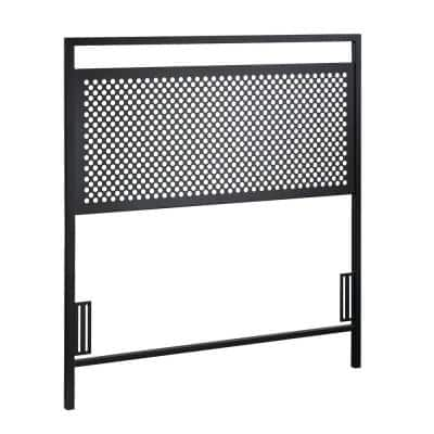 Boulevard Cafe Black Twin Headboard
