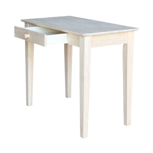 International Concepts 36 In, Unfinished Furniture Desk