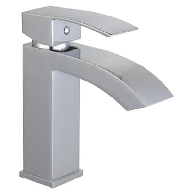 Marella Single Hole Single-Handle Bathroom Faucet in Polished Chrome