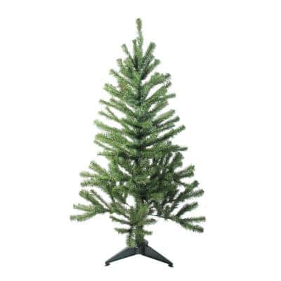 4 ft. Canadian Pine Unlit Artificial Christmas Tree