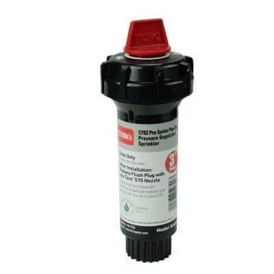 570Z Pro Series 3 in. Body Only Pop-Up Pressure-Regulated Sprinkler