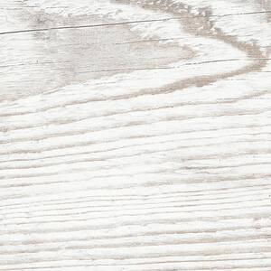 Village White 8 in. x 26 in. Glazed Porcelain Floor Tile (12.92 sq. ft. / case)