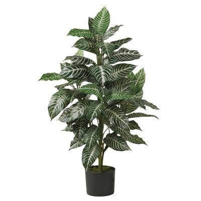 3 ft. Zebra Silk Plant