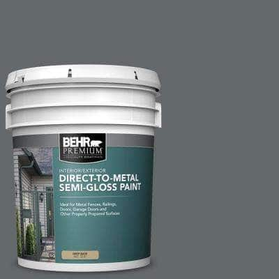 5 gal. #PPU26-02 Imperial Gray Semi-Gloss Direct to Metal Interior/Exterior Paint