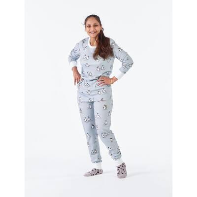 Family Snug-Fit Company Organic Cotton™ Women's Pajama Set in Penguin