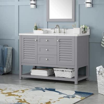 Coastal Bathroom Vanities Bath The Home Depot