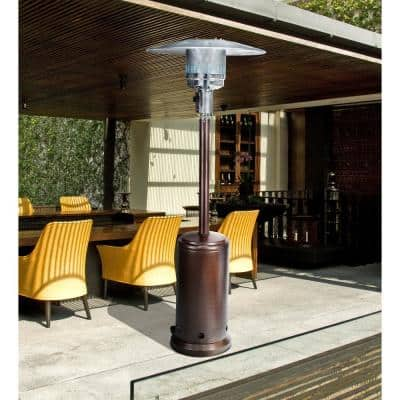45000 BTU Bronze Portable Outdoor Propane Gas Patio Heater
