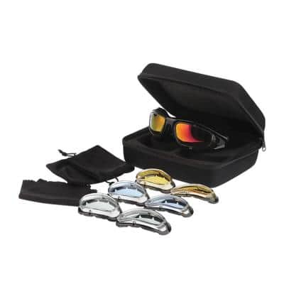 Premium Motorcycle Riding Glasses Package Kit