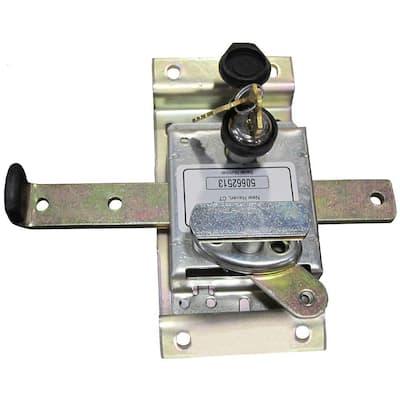 Classic Series Steel Silver Keyed Sliding Cellar Door Lock