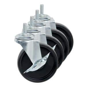 Deals on Honey-Can-Do 4-inch Caster Roller Wheels Unit Set of 4