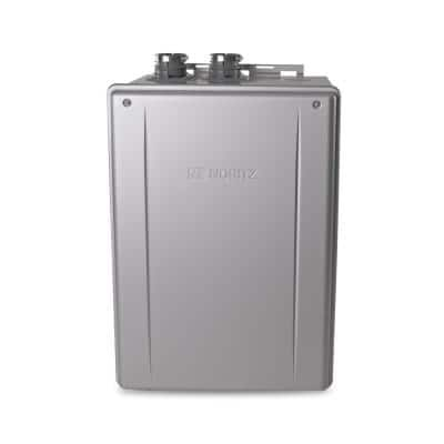 11.1 GPM Residential Indoor/Outdoor Built-In Recirculation Pump LP Gas Tankless Water Heater 199,900 BTUH