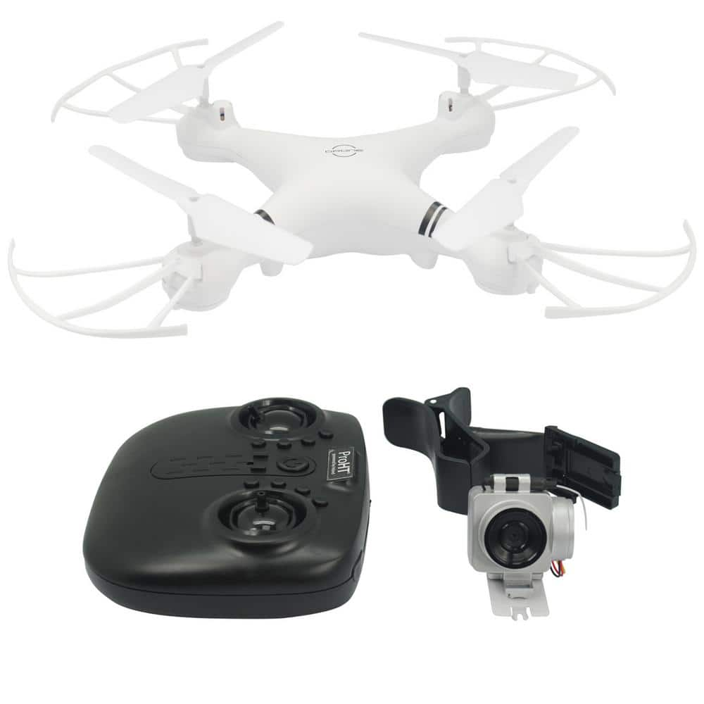 Proht 2 4ghz 4 Channel R C Drone With Mountable 720p Wi Fi Camera And One Key Return 86401 The Home Depot