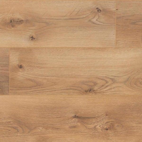 Trafficmaster Cameron Oak 7 Mm Thick X, Trafficmaster Glueless Laminate Flooring Reviews