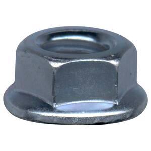 3/8 in. Serrated Zinc Lock Nut (2 per Bag)