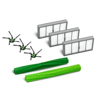 Roomba s Series Replenishment Kit, 3-Filters, 3-Corner Brushes, 1-Set of Multi-Surface Rubber Brushes