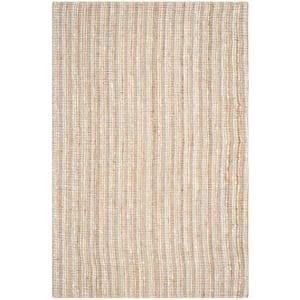 Natural Fiber Gray/Beige 6 ft. x 9 ft. Indoor Area Rug