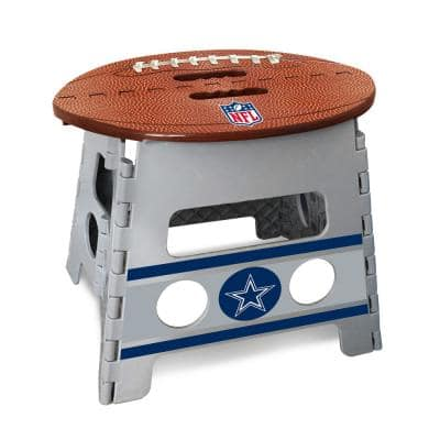NFL Dallas Cowboys Plastic Folding Step Stool