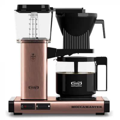 KBG 10-Cup Copper Drip Coffee Maker