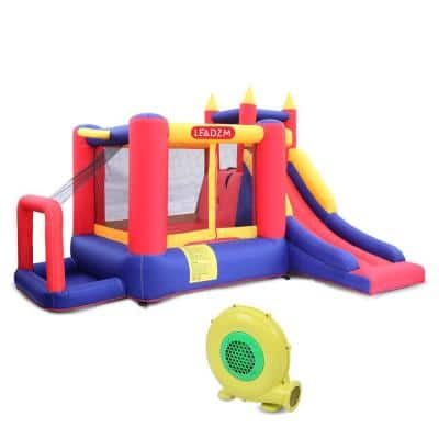 Inflatable Bounce House Kids Jumper Slide with Blower