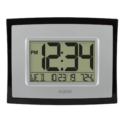 6.85 in. H Digital Clock with Temperature