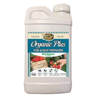32 oz. Organic Fish and Kelp Liquid Fertilizer