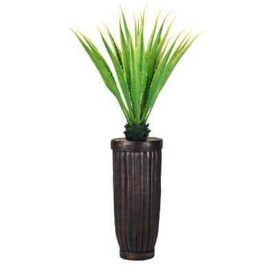 69 in. Real Touch Agave Plantin Resin Planter