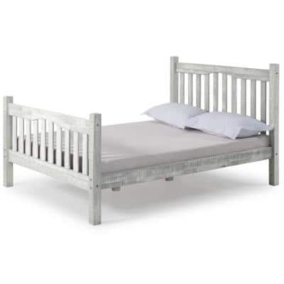 Rustic Mission Full Bed, Rustic Gray