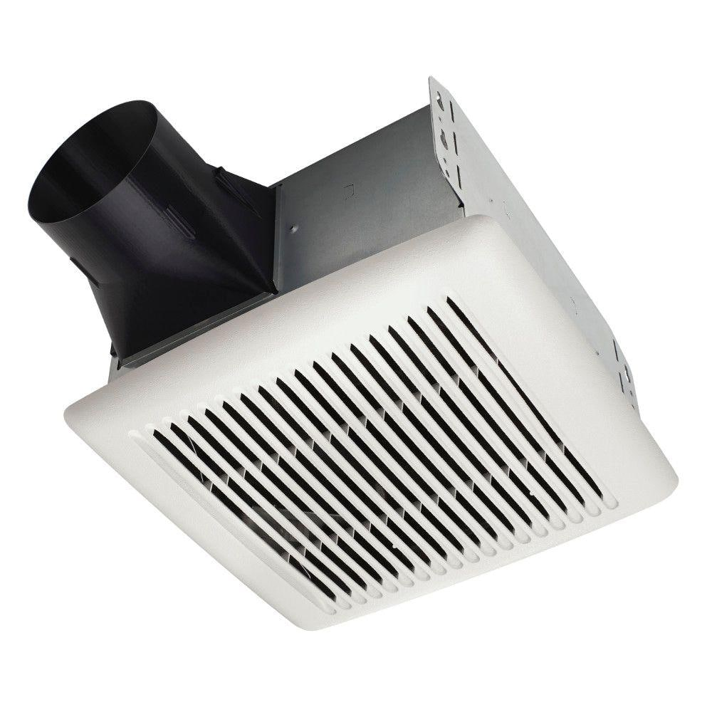 Broan Nutone Flex Series 110 Cfm Ceiling Roomside Installation Bathroom Exhaust Fan A110 The Home Depot