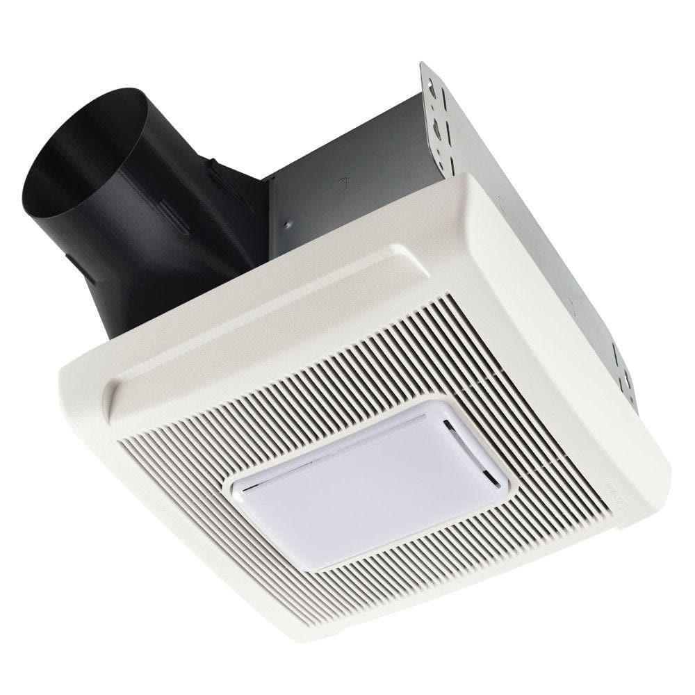 Broan Nutone Invent Series 110 Cfm Ceiling Installation Bathroom Exhaust Fan With Light An110l The Home Depot