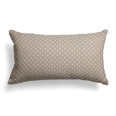 Coastal Sand Rectangular Lumbar Outdoor Pillow