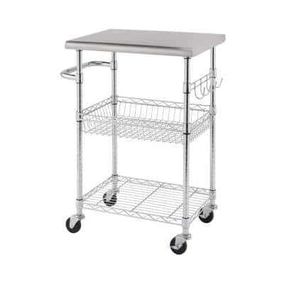 Trinity Kitchen Carts Carts Utility Tables The Home Depot