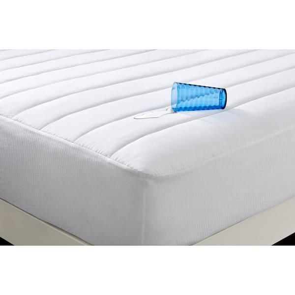 Just Home Waterproof Queen Soft Top Mattress Protector