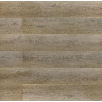 Trinity Mocha Waterproof Laminate Flooring 10 mm T x 7.7 in. W x 47.87 in. L (17.99 sq. ft./case)