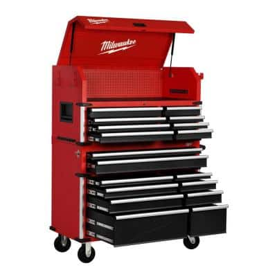High Capacity 46 in. 18-Drawer Tool Chest and Cabinet Combo