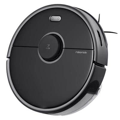 S5 Max Robot Vacuum Cleaner and Mop System - Black